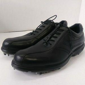 ECCO Men's US 11M EUR 44 Hydromax Golf Shoes Black